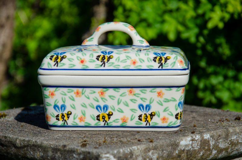 Bee Butter Box by Ceramika Artystyczna