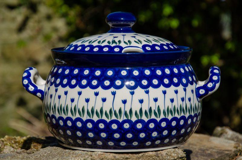 Flower Spot Tureen by Ceramika Artystyczna