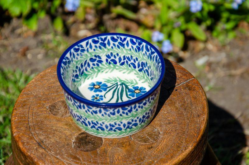 Forget Me Not Ramekin by Ceramika Artystyczna