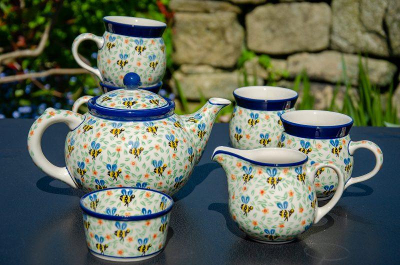 Bee Tea Set by Ceramika Artystyczna