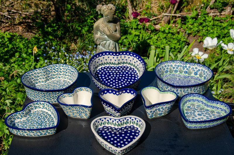 Heart Dish Sets