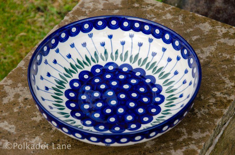 Polish Pottery Salad Bowl by Ceramika Artystyczna