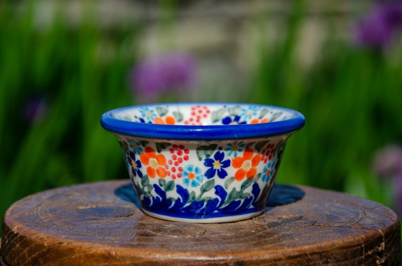 Flower Small Dip Bowl by from Polkadot Lane UK