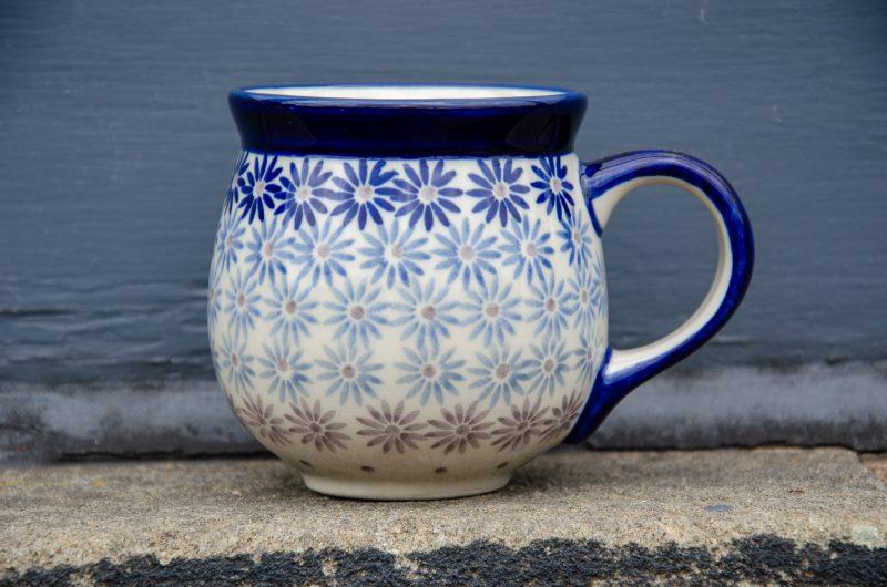 Fading Flowers Mug Ceramika Manufaktura Boleslawiec