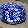 Ceramika Manufaktura Serving Plate Circle and Swirl Pattern