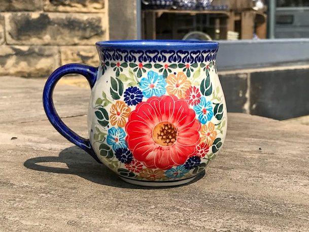 Unikat Flower garden Large Mug From Polkadot Lane UK