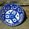 Circle and Swirl Unikat Polish Pottery Dessert Bowl