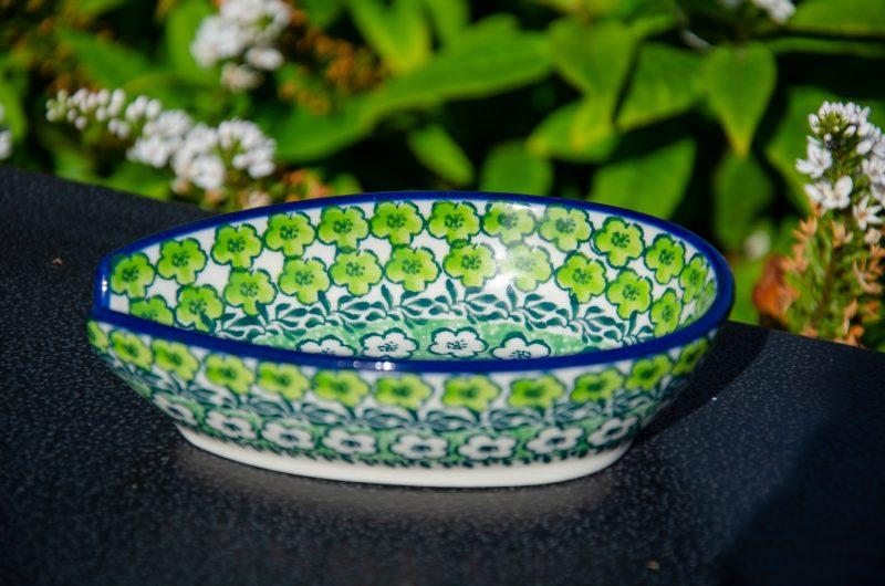 Ceramika Artystyczna Green Meadow Spoon Rest