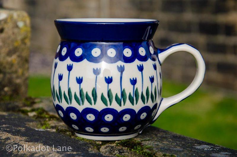 Flower Spot Large Mug Ceramika Artystyczna