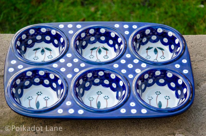Flower Spot Buntin Ceramika Artystyczna from Polkadot Lane UK