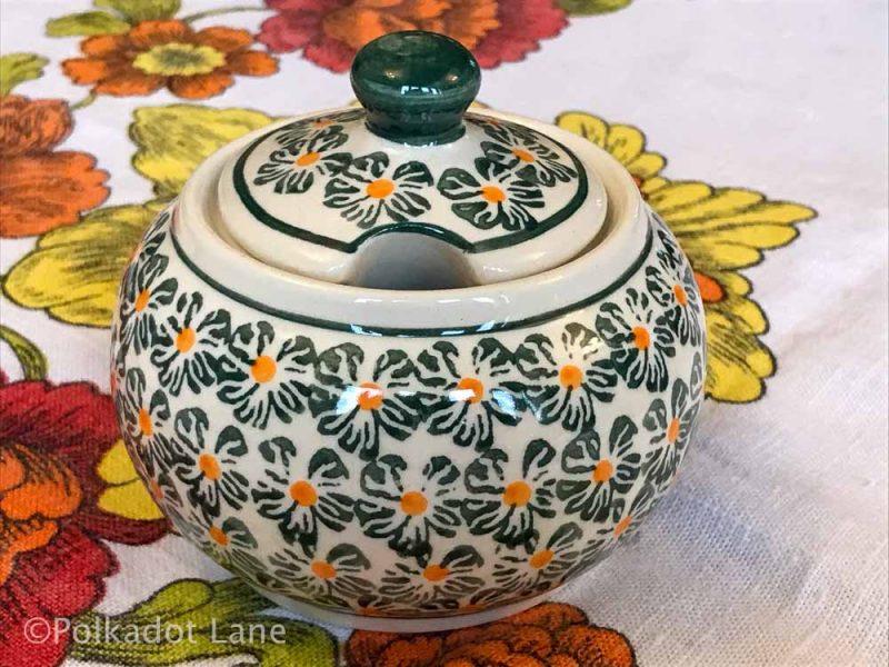 Sugar Bowl Green Daisy