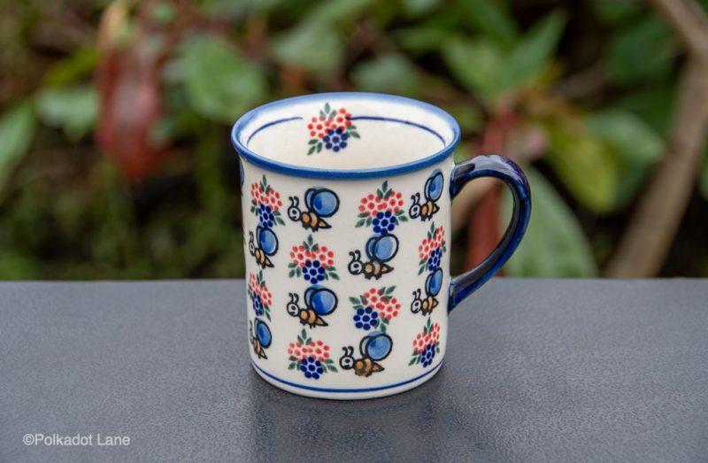 Bumble Bee Mug by Ceramika Andy Polish Pottery