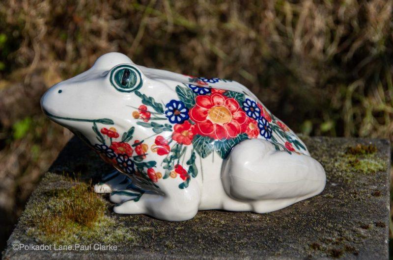 Andy Polish Pottery Frog from polkadot Lane UK