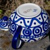 Ceramika Manufaktura Unikat Extra Large Teapot from polkadot Lane Polish Pottery