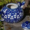 Polish Pottery Extra Large Teapot by Ceramika Manufaktura