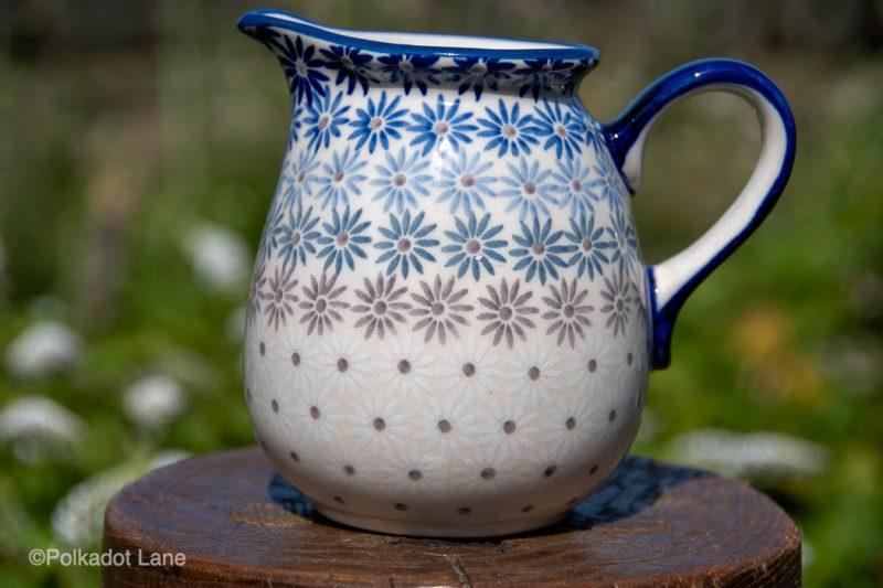 Fading Flower Unikat Small Jug by Ceramika Manufaktura