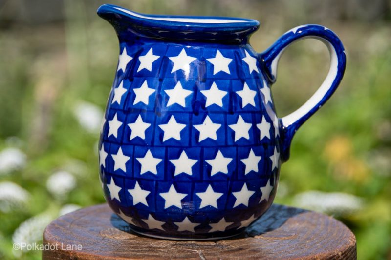 White Star Small Jug by Ceramika Manufaktura