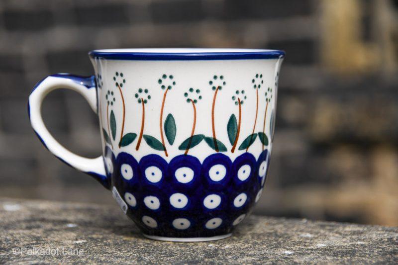Dais Spot Curve Shaped Mug by Ceramika Artystyczna