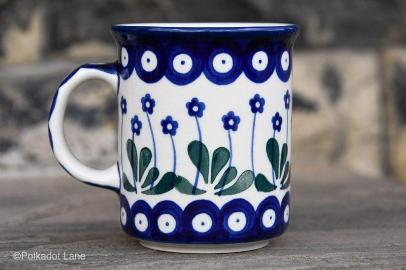 Tea Coffee Mug Flower Spot Garden Medium Size by Ceramika Artystyczna